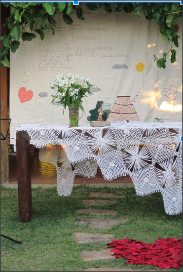Altar de casamento inspirador