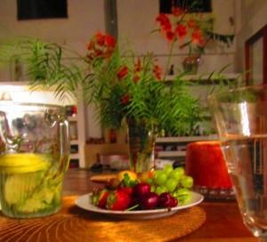 Frutas a mesa