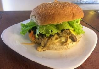 Hambúrguer vegano