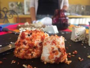 degustação de queijo